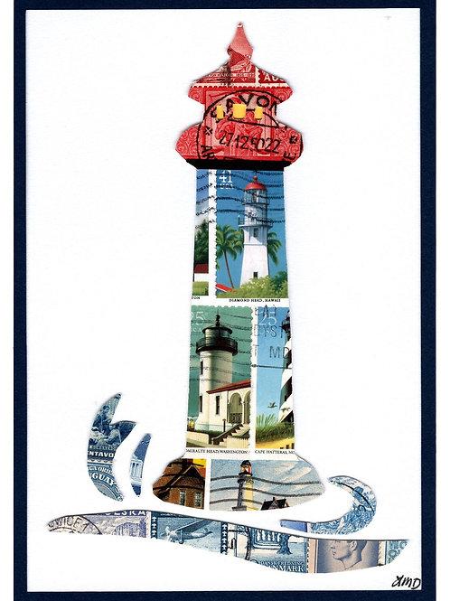 Lighthouse 5x7