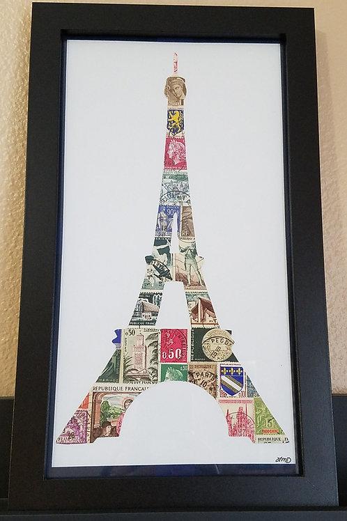 Eiffel Tower 6x12 (FRAMED)