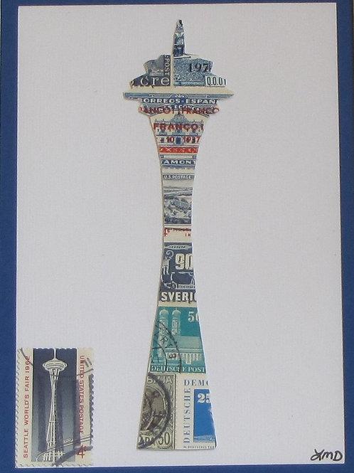 Seattle Space Needle 5x7