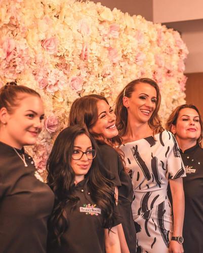 Grand Opening/Erika's Beauty team