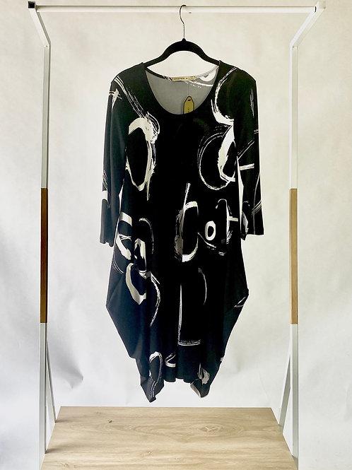 3/4 Sleeve Bounce Dress
