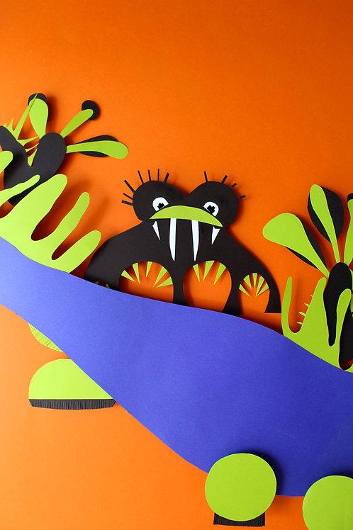 A4/A3 Poster Badass Buff (cactus)