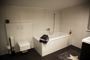 Badewanne & Toilette