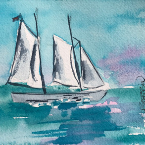 5 Elements of Design in my Watercolor Paintings