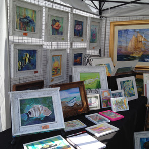 How do you decide which Watercolor Art Show to enter?