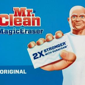 Why is Mr. Clean in my Art Studio?