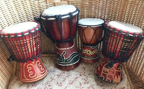 DRUM – MINI DJEMBE  7″H. X 5″