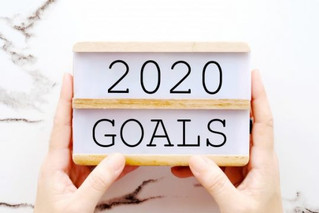 Now is the Time to Set Your 2020 Goals