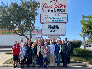 T.A.G. Visits Five Star Cleaners in San Antonio, TX