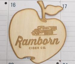 wooden sticker