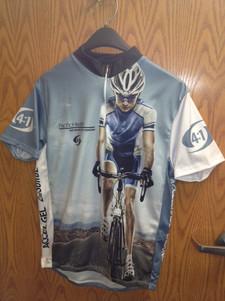 sublimated bike jersey