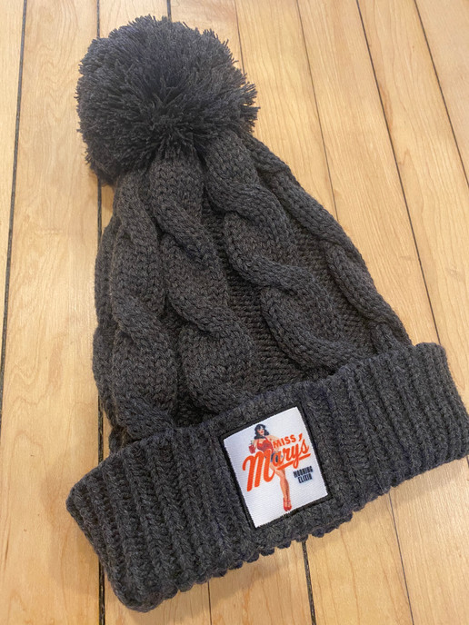 cable knit beanie-stock program