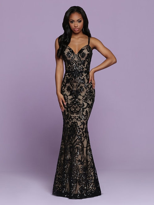 Sparkle Prom form fitting style 72085