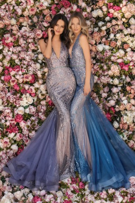 Clarisse mermaid style dress 8128