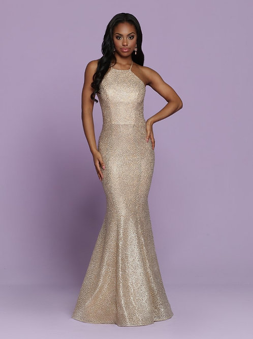 Sparkle form fitting dress style 72088