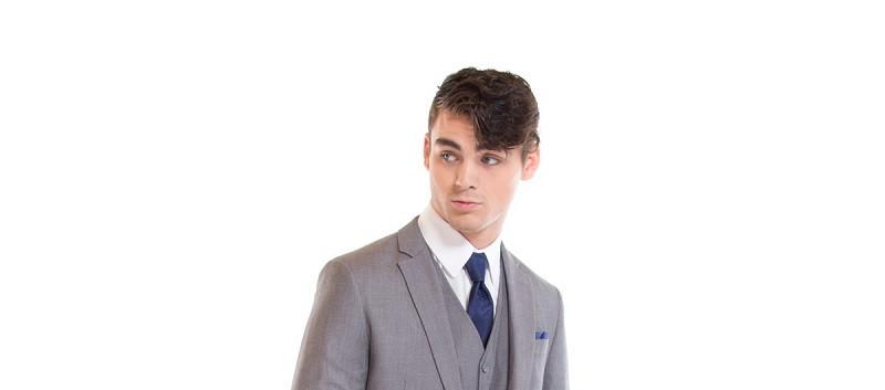 Gorgio Fiorelli gray suit