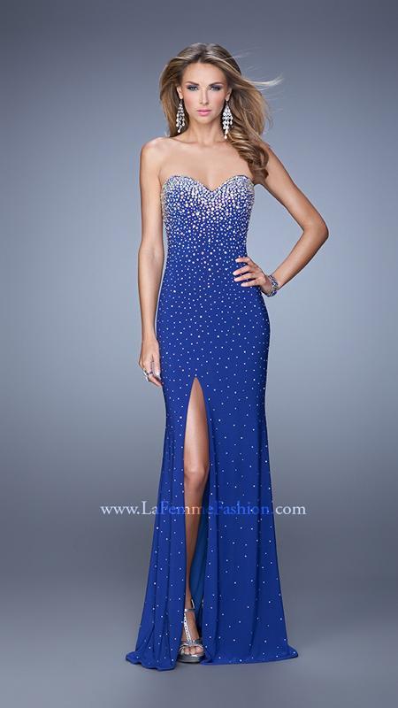 La Femme Style 20538 | Tuxedo Rentals Suit Sales Prom Dresses in ...