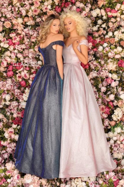 Clarisse glittery ballgown style 8231