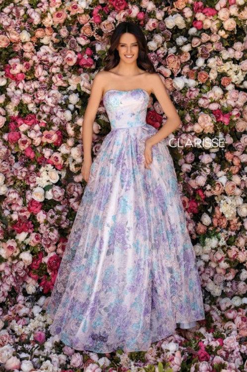 Clarisse Multicolored ballgown style 5122