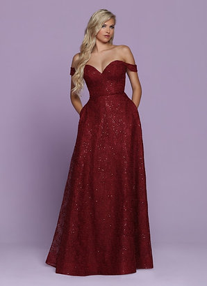 Sparkle Prom A line dress 72072