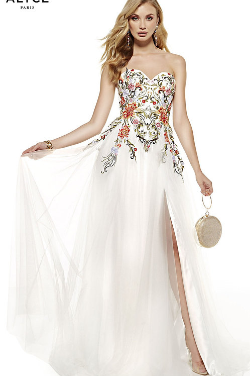 Alyce Embroidered dress 60699