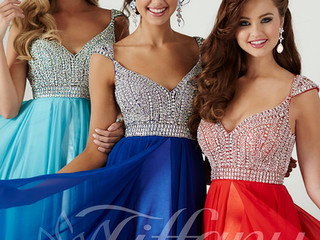 In-stock prom dresses now 25% off!