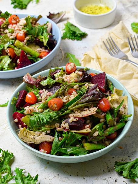 Italian Barley Salad