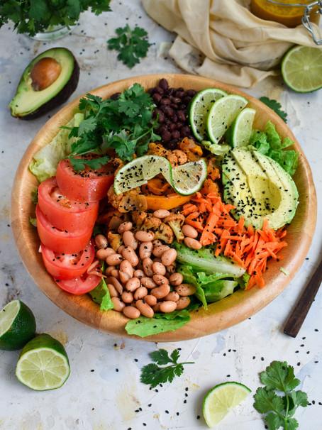 Cauliflower Taco Salad