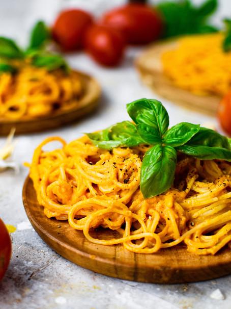Creamy Roasted Tomato Pasta