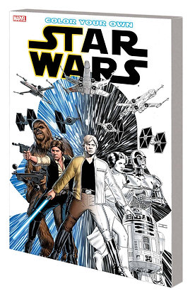 Color Your Own: STAR WARS