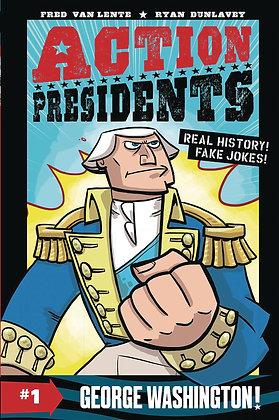 Action Presidents #1: George Washington!