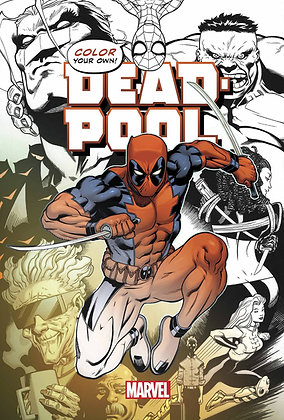 Color Your Own: DEAD-POOL