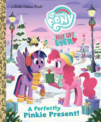 Little Golden Book - My Little Pony: A Perfectly Pinkie Present