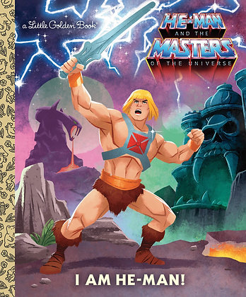 Little Golden Book - He Man & The Masters of the Universe, I Am He Man