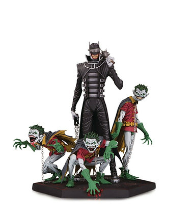 Dark Knights Metal: Batman Who Laughs and Robin Minions Deluxe Statue