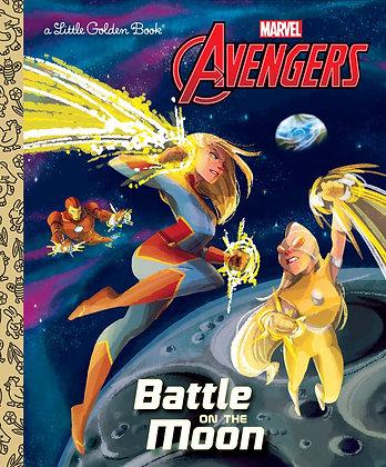 Little Golden Book - Avengers: Battle on the Moon
