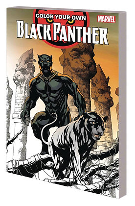 Color Your Own: BLACK PANTHER