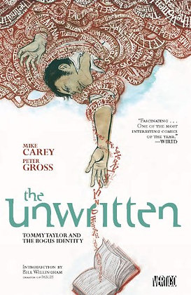 The Unwritten Vol. 1: Tommy Taylor & The Bogus Identity