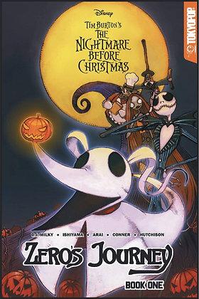 The Nightmare Before Christmas - Zero's Journey Book One (Manga)
