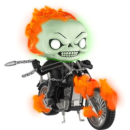 Ghost Rider Funko POP! Rides (Glow in the Dark, PX Exclusive)