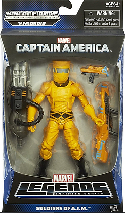 Marvel Legends: A.I.M. Solider - Mandroid Build A Figure