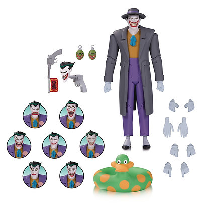 Batman the Animated Series: Joker Expressions Pack