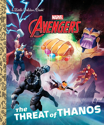 Little Golden Book - Avengers: The Threat of Thanos
