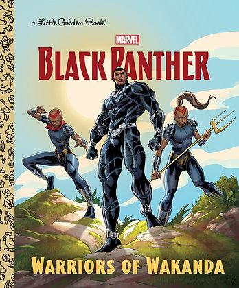 Little Golden Book - Black Panther: Warriors of Wakanda
