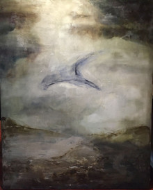 unforgetable, 48x60, oil and wax on canvas