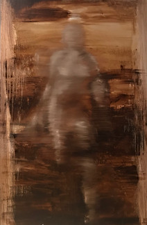 Ghost, 30x48, oil on canvas