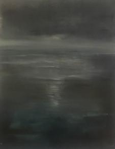 Deep blue, 48x60, oil on canvas