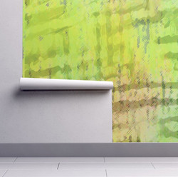 "Wallpaper ""Lime Sweep"""