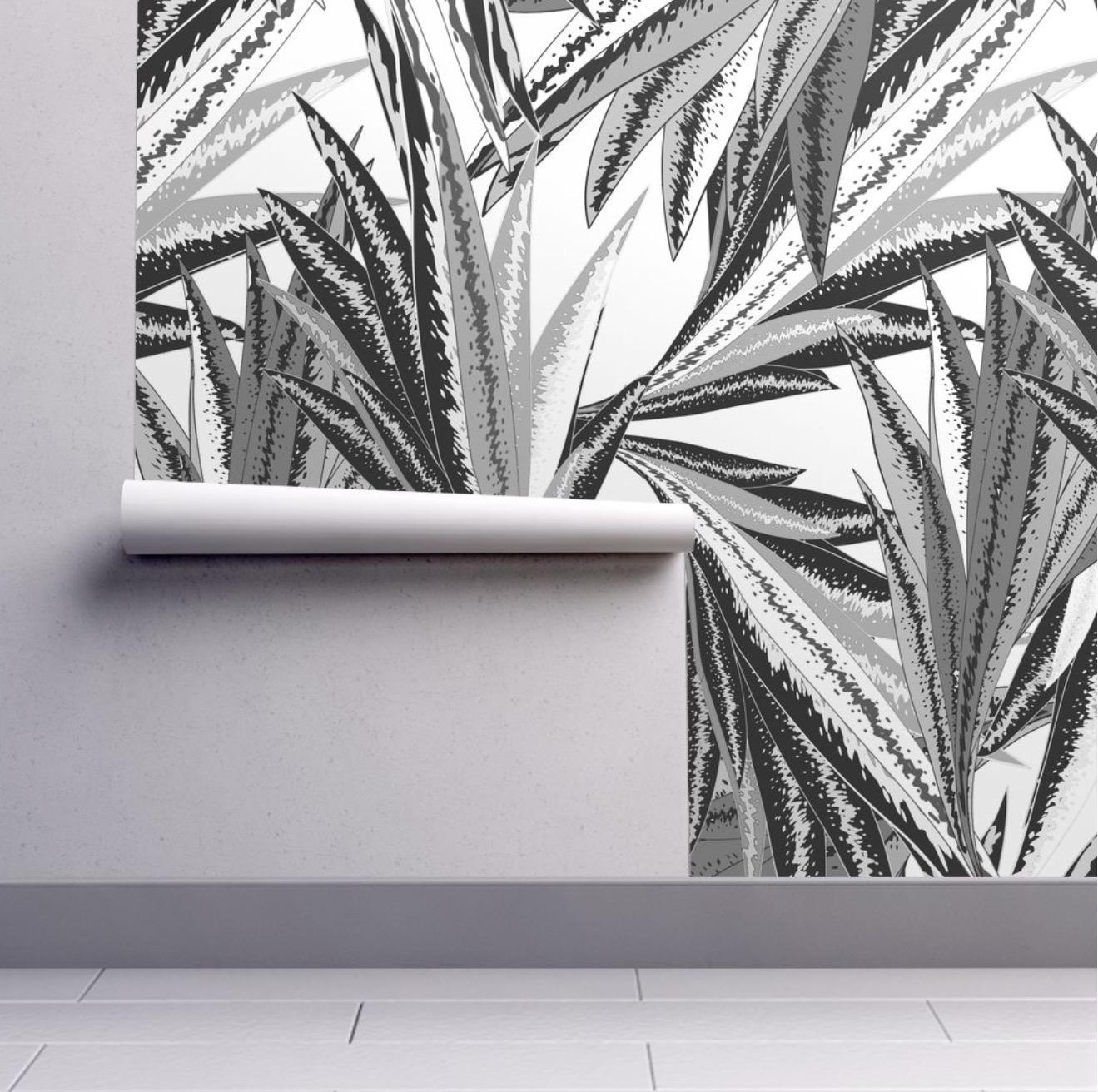 """Wallpaper """"B&W Paradise"""""""
