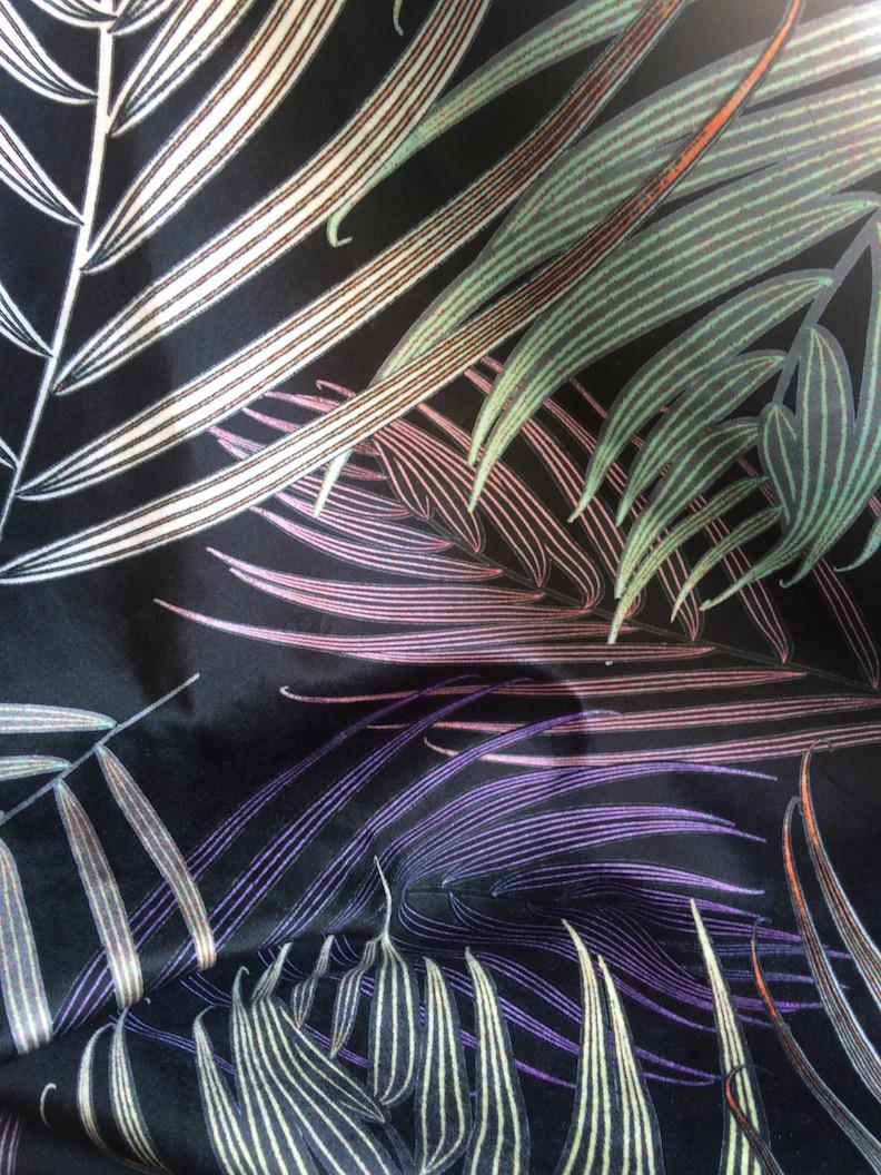 Black Palm - velvet